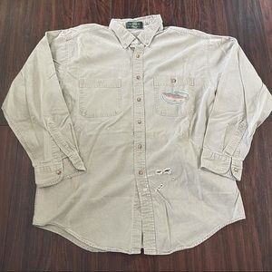 Vintage Orvis Large Fishing Outdoor Button Shirt